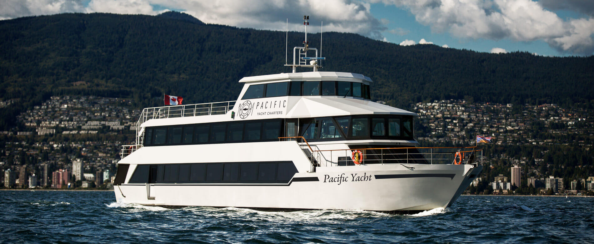 Pacific Yacht Charters Vancouver Luxury Yacht