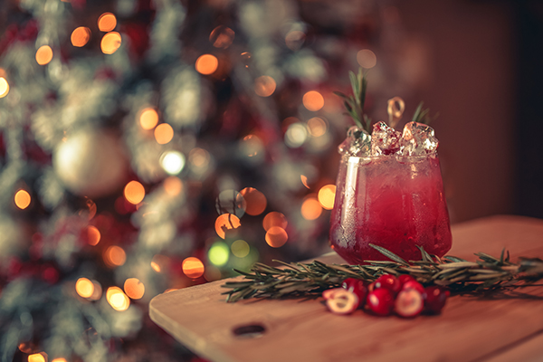 corporate holiday party themes - cocktail party